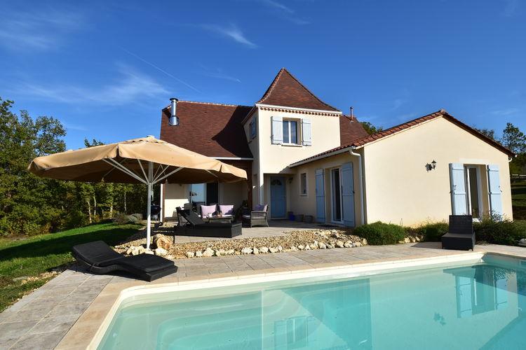 Villa met zwembad met wifi  Sainte-foy-de-LongasVilla Sainte Foy de Longas
