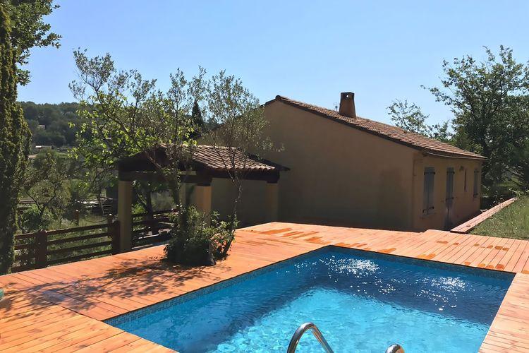 Vakantiehuis met zwembad met wifi  LorguesMartin