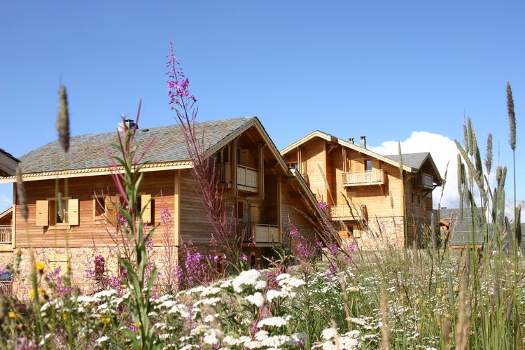 Les Chalets de l Altiport Huez Northern Alps France