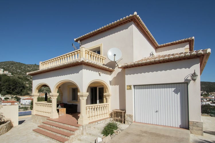 vakantiehuis Spanje, Costa Blanca, Alcalali vakantiehuis ES-03728-04