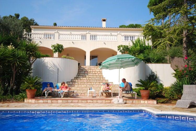 Vakantiehuizen Spanje | Costa-Brava | Villa te huur in Calonge met zwembad  met wifi 12 personen