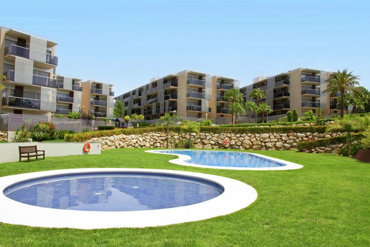 Appartement met zwembad   Costa DoradaParadise Village