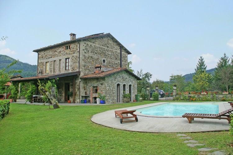 Villas Italie | Toscana | Villa te huur in San-Romano-di-Garfagnana    8 personen