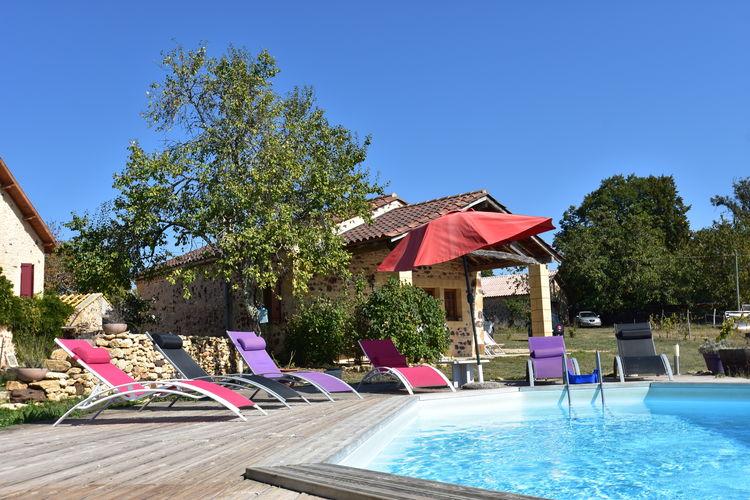 Vakantiehuis met zwembad met wifi  DordogneMaison de vacances Montferrand du Périgord