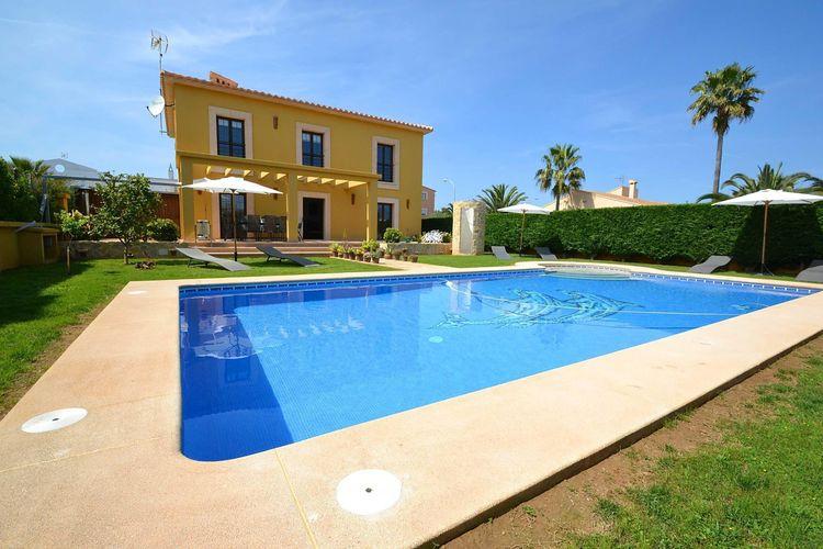 Vakantiehuizen Spanje   Mallorca   Villa te huur in Sant-Llorenc-des-Cardassar met zwembad  met wifi 8 personen