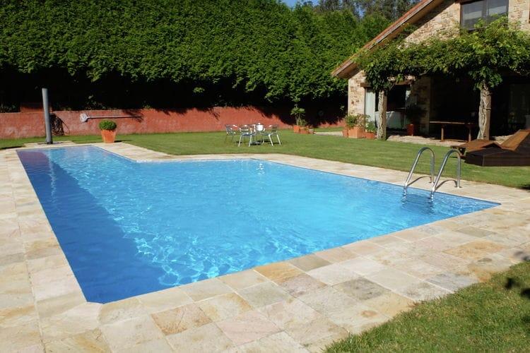Vakantiehuis met zwembad met wifi  Het Groene SpanjeCasa Santiago de Compostela