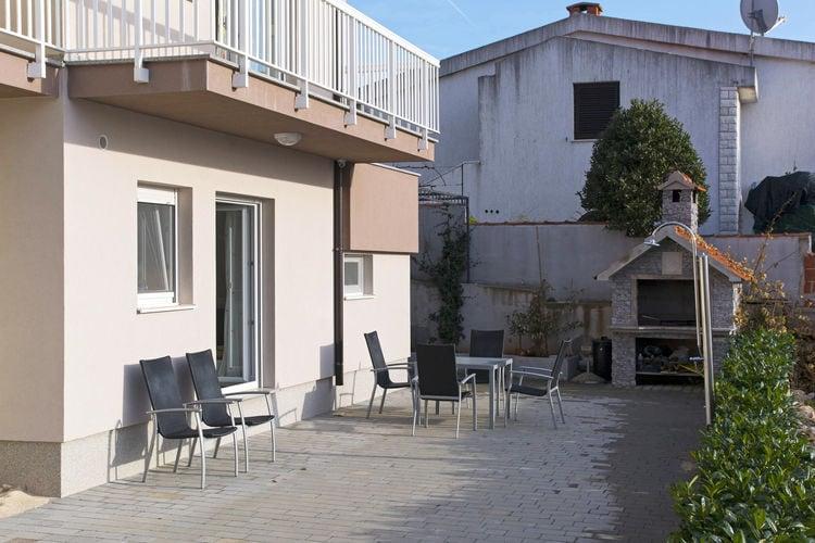 Appartement Kroatië, Dalmatie, Zečevo Rogozničko Appartement HR-22203-01