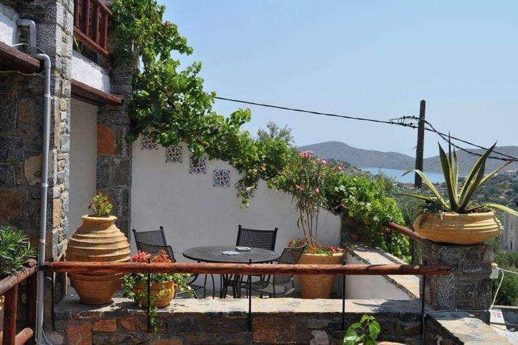 Vakantiehuizen Griekenland | Kreta | Vakantiehuis te huur in Elounda   met wifi 5 personen