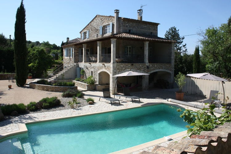 Vakantiehuizen Ardeche te huur Saint-André-de-Cruzières- FR-07460-15 met zwembad  met wifi te huur