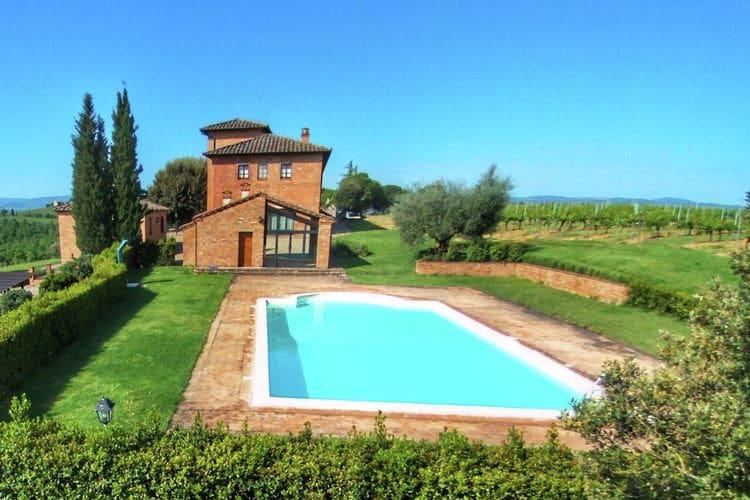 Boerderij huren in Montepulciano - met zwembad  met wifi met zwembad voor 9 personen  Dichtbij het middeleeuwse dorpje M..