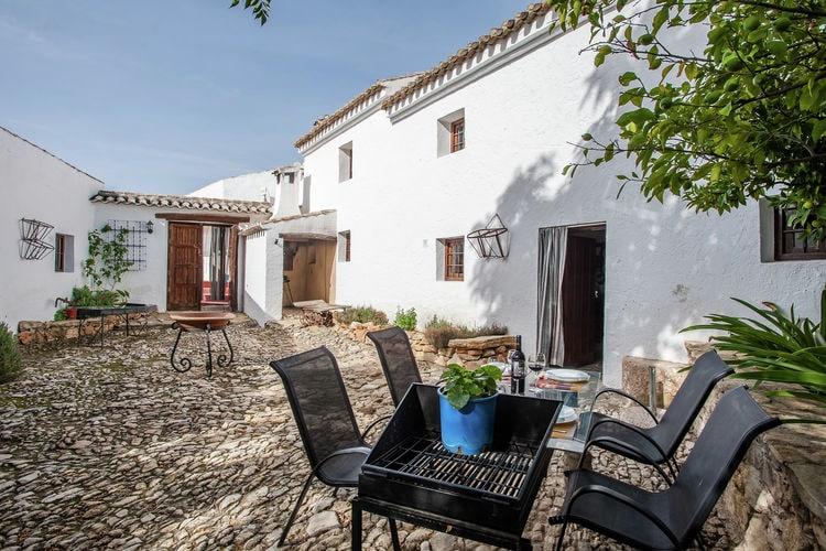 Spanje | Andalucia | Boerderij te huur in Fuentes-de-Cesna met zwembad  met wifi 8 personen