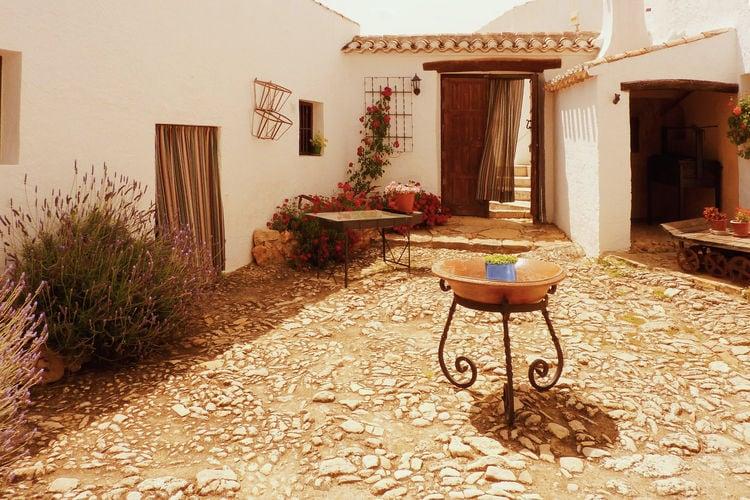 Spanje | Andalucia | Boerderij te huur in Fuentes-de-Cesna   met wifi 2 personen