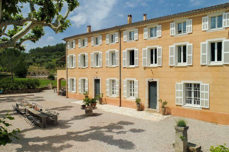 Carces Vakantiewoningen te huur Luxueuze bastide met privézwembad op wijnproducerend domein in de Provence