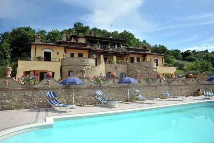 Vakantiewoning huren in Collazzone - met zwembad   met zwembad voor 5 personen  Dompel je onder in de rust van de ..