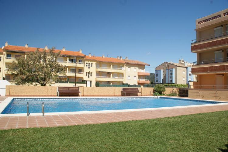 Appartement met zwembad met wifi  Costa BravaFSE 4 o 5 balcón