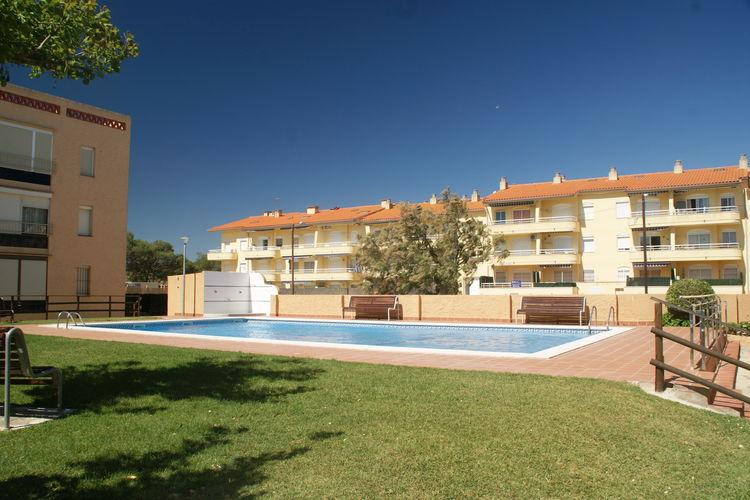 Appartement met zwembad met wifi  Costa BravaFSE 4 o 5 baja terraza