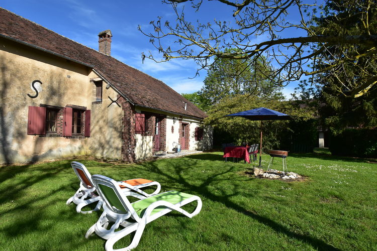 Woning Frankrijk | Region-Centre | Vakantiehuis te huur in Saint-Maurice-sur-Aveyron   met wifi 6 personen