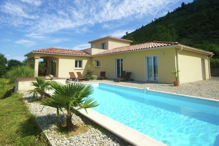 Villa met zwembad met wifi  ArdecheVilla - LES VANS