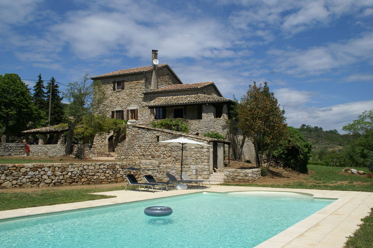 Villas Frankrijk | Ardeche | Villa te huur in Largentiere    5 personen