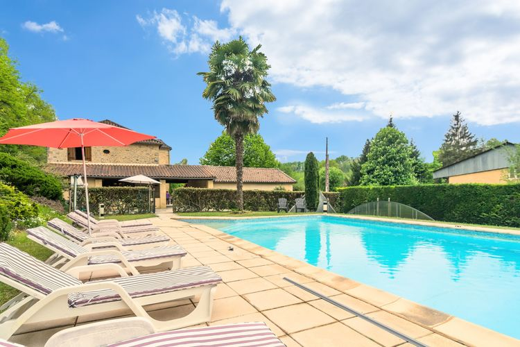 Vakantiehuis met zwembad met wifi  DordogneMaison de vacances Siorac en Périgord
