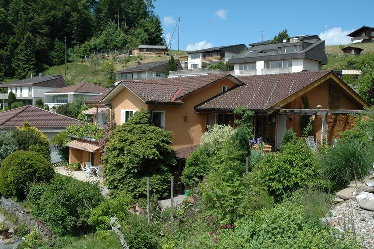 Zwitserland Appartementen te huur Ruim en licht appartement met tuin, terras, zonnenscherm en veel privacy