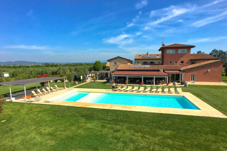 Vakantiewoning Italië, Toscana, Braccagni Appartement IT-58100-40