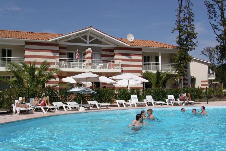 Vakantiehuis met zwembad met wifi  Cote AtlantiqueLe Domaine des Sables 1