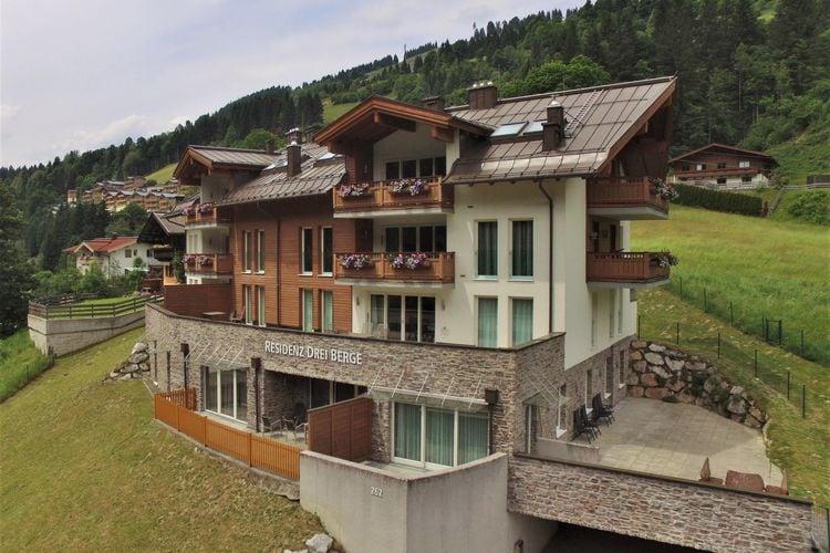 Appartement  met wifi  Saalbach-HinterglemmDrei Berge