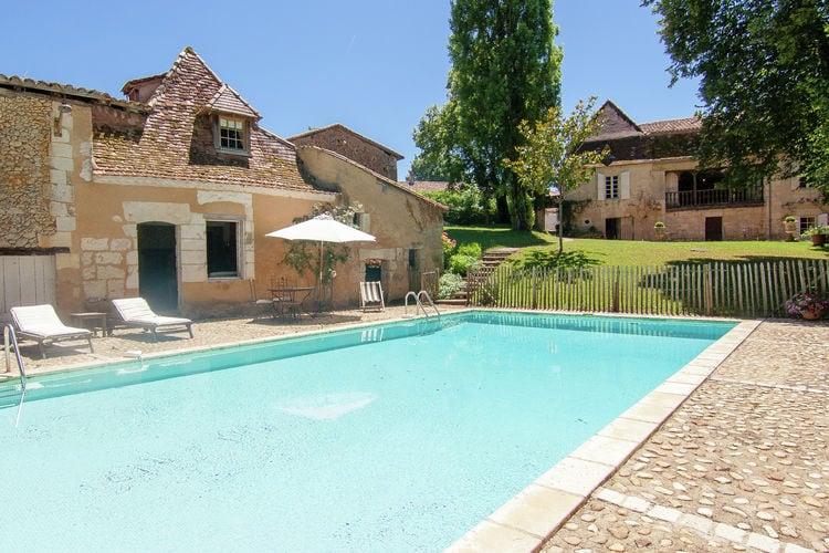 Vakantiewoning met zwembad met wifi  Sourzac  Imposant, luxueus landhuis op groot privédomein met zwembad en tennisbaan