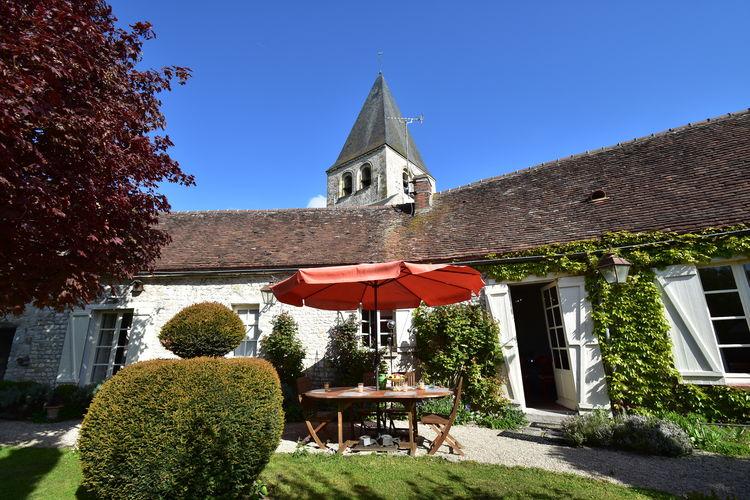 Woning Frankrijk | Region-Centre | Vakantiehuis te huur in Yevre-Le-Chatel   met wifi 6 personen