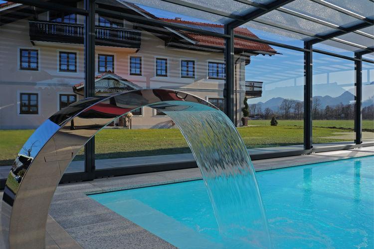 Appartement met zwembad met wifi  Ubersee  Am Chiemsee