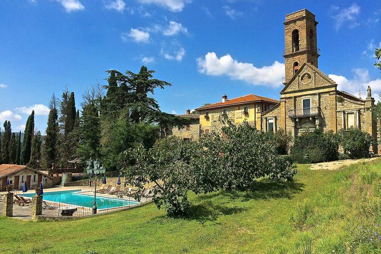 Vakantiehuizen Italie | Toscana | Vakantiehuis te huur in Ciggiano met zwembad  met wifi 20 personen