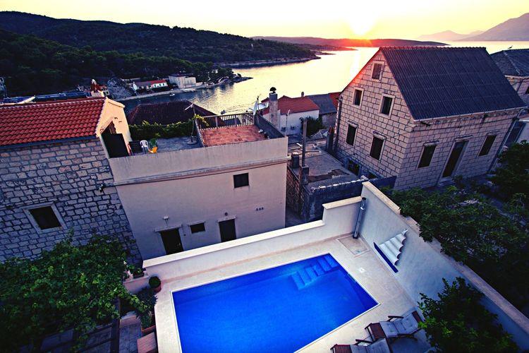 Villa Kroatië, eld, Povlja Villa HR-21425-08