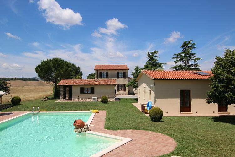 Boerderij met zwembad met wifi  Castiglione-DorciaVilla Orcia