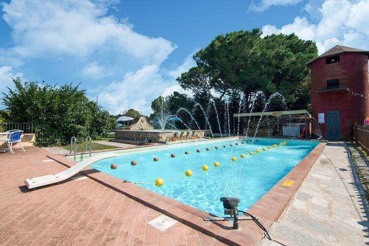 Boerderijen Italie | Umbrie | Boerderij te huur in Castiglione-del-Lago met zwembad  met wifi 6 personen