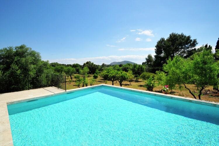 Vakantiehuis met zwembad met wifi  Búger  Mut