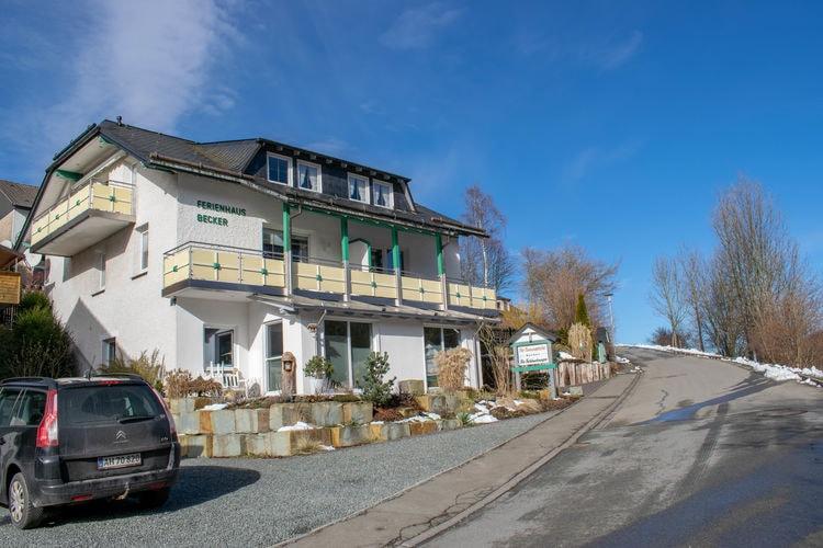 Vakantiehuizen Duitsland | Sauerland | Appartement te huur in Willingen   met wifi 6 personen