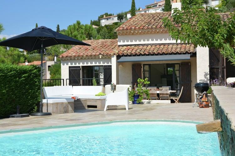 Villa huren in Les-Issambres - met zwembad  met wifi met zwembad voor 6 personen  Schitterende, ruime villa met verw..