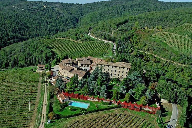 Radda-in-Chianti Vakantiewoningen te huur In het hart van de Chianti in de heuvels