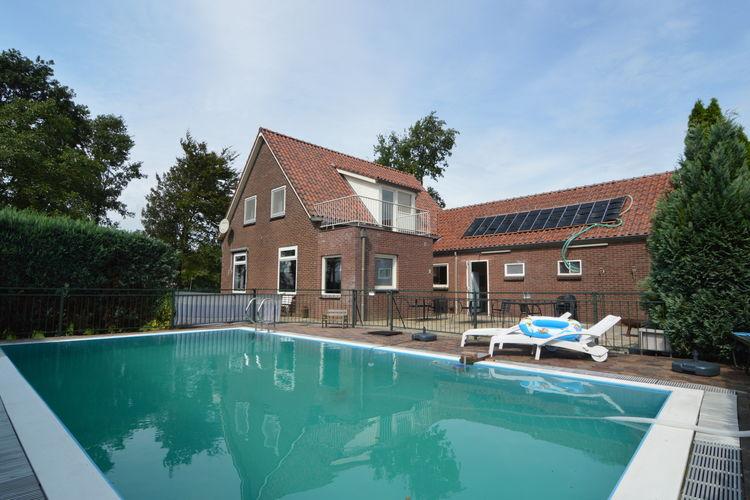 Vakantiehuizen Nederland | Gelderland | Vakantiehuis te huur in Silvolde met zwembad  met wifi 16 personen