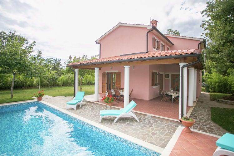 Villa Kroatië, Istrie, Zminj Villa HR-52341-13