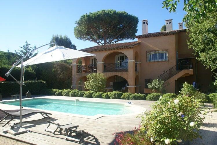 Vakantiehuis met zwembad met wifi  Saint-TropezVilla Saint Tropez