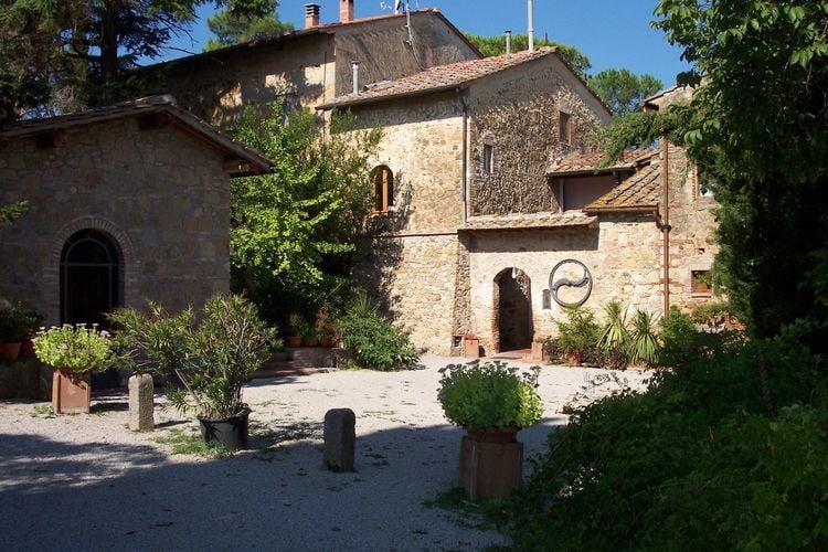 Karakteristieke boerderij in de buurt van San Gimignano