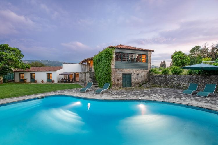 Vakantiehuis met zwembad met wifi  Santa Cruz do Lima, Ponte de Lima  Casa Alpendre