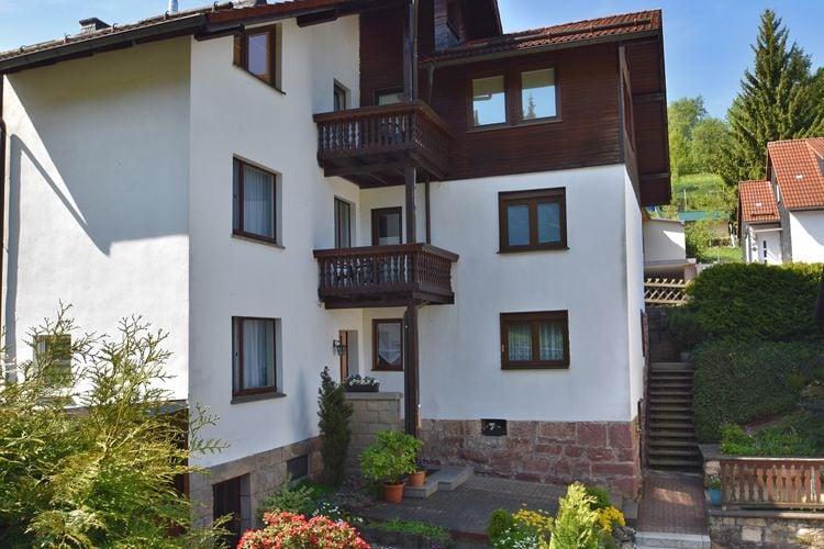 Duitsland | Thuringen | Appartement te huur in Steinbach-Hallenberg   met wifi 2 personen