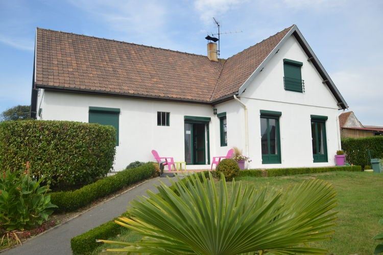 Picardie Villas te huur Appartement op 6 km van de opaalkust met tuin, internet en parkeergelegenheid.