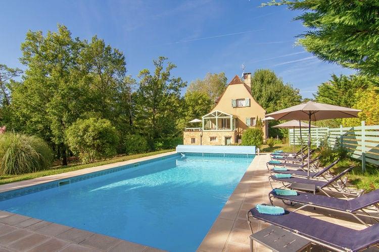 Frankrijk | Dordogne | Villa te huur in Masclat met zwembad  met wifi 6 personen