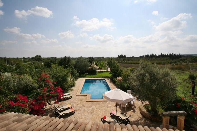 Vakantiehuizen Spanje | Mallorca | Vakantiehuis te huur in Buger met zwembad  met wifi 12 personen