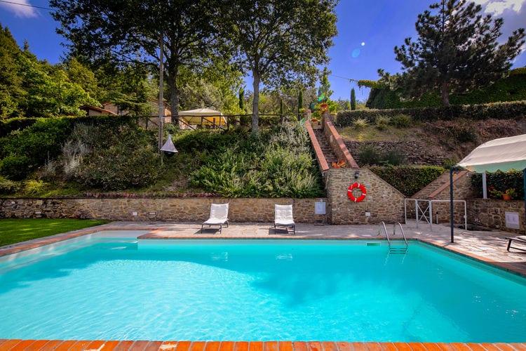 Vakantiehuizen Italie | Toscana | Vakantiehuis te huur in Cortona met zwembad  met wifi 6 personen