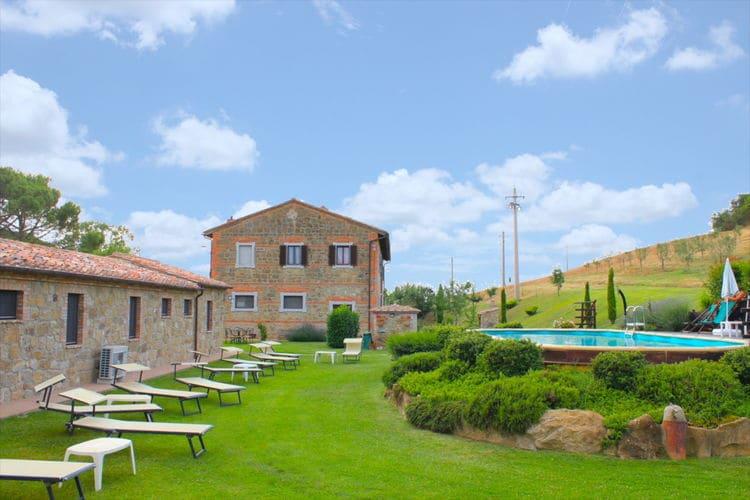 Pienza Vakantiewoningen te huur Villa met privézwembad en ruime tuin in de prachtige Val D